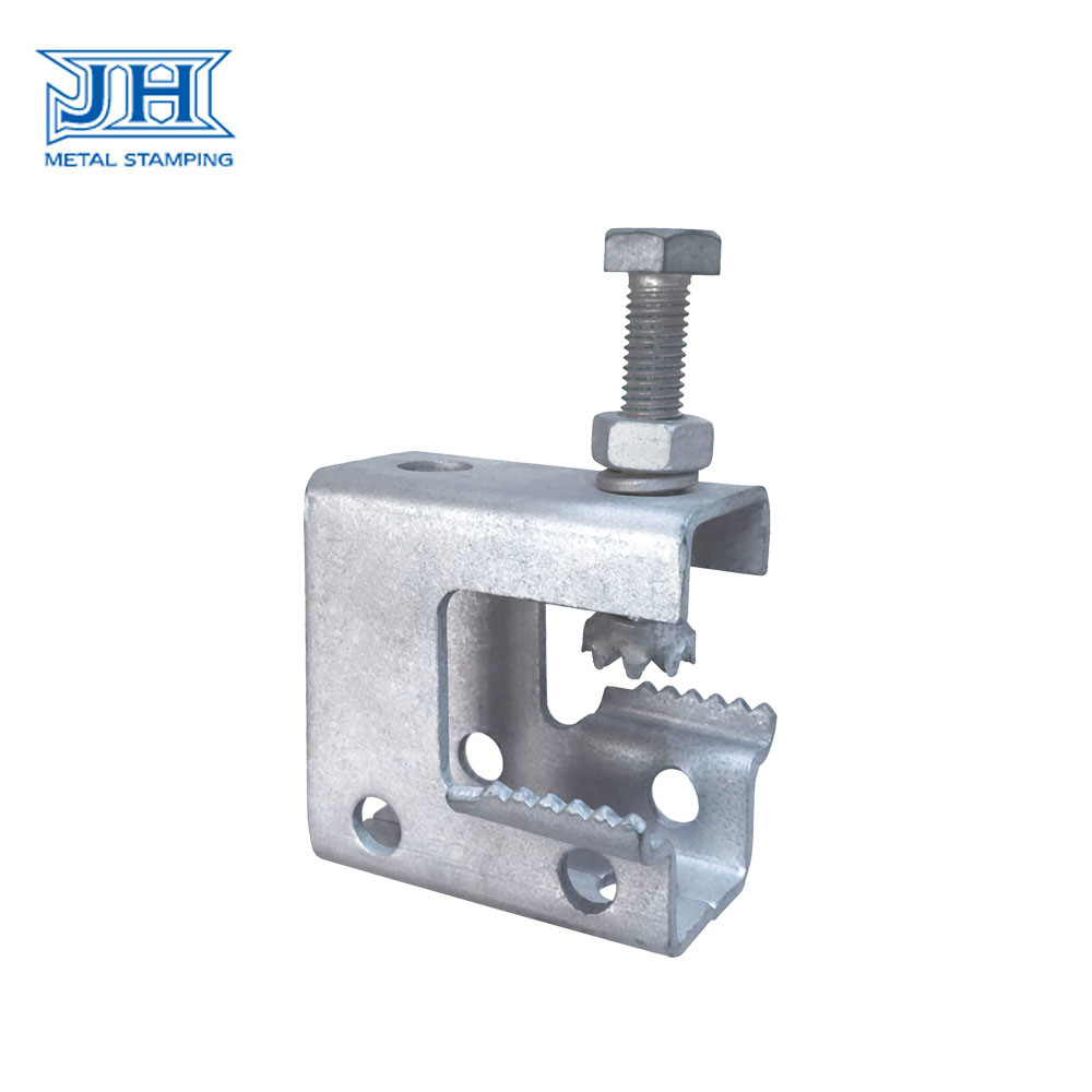 Metal Stamping Supporting Bracket Engineering Project Customized Size